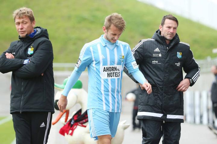 Seinen letzten Einsatz hatte Jan Koch am 8. Oktober im Landespokal bei Lok Zwickau. In dieser Partie musste der Abwehrspieler vorzeitig verletzt raus.