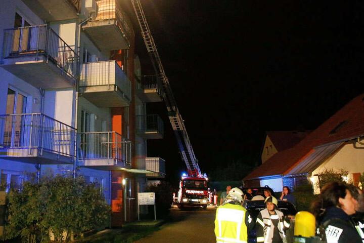 Die Feuerwehr war im Frankenberger Ortsteil Dittersbach im Einsatz.