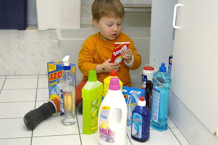 Riecht gut und macht Appetit: Die meisten Anrufe erhält die Giftnotrufzentrale von Eltern, deren Kinder  Reinigungsmittel vertilgt haben.