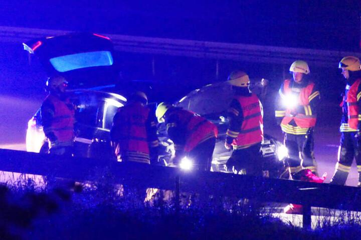Dabei erlitt ein Peugeot 508 Totalschaden.