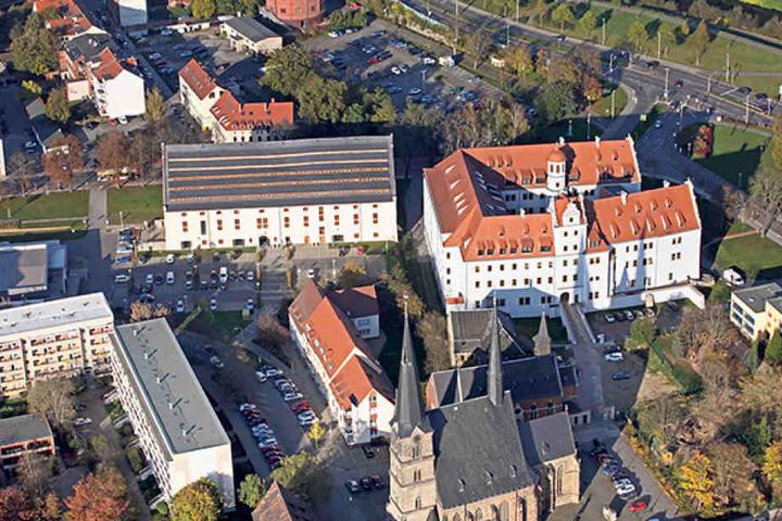 Direkt auf dem Gelände von Schloss Osterstein will die ZWG Luxuswohnungen  errichten.