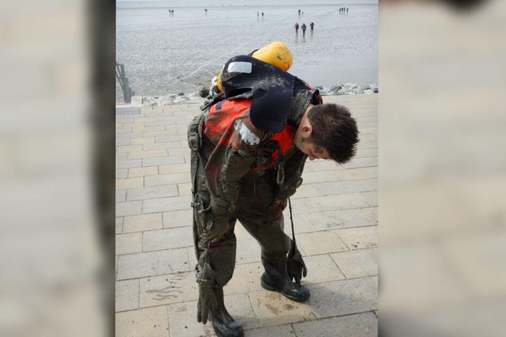 Für die Feuerwehrleute war die Aktion äußerst kräftezehrend.