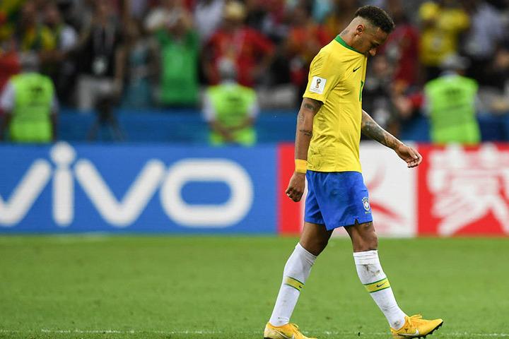 Auch Super-Star Neymar und Brasilien sind raus dem WM-Turnier.