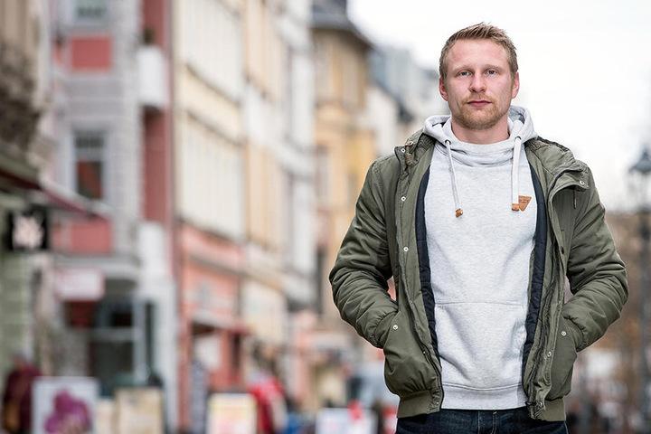 Beim Zwickauer Stadtfest will Rapper Billy Unger wieder in seiner Heimatstadt auftreten.