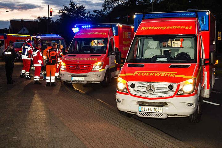 Die sechs Mitfahrer wurden verletzt. Der Fahrer blieb unverletzt.