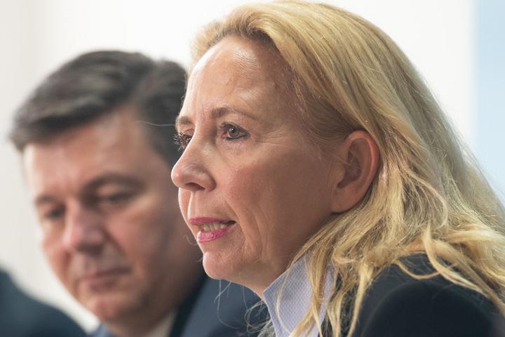 Berlins Polizeipräsidentin Barbara Slowik und Innensenator Andreas Geisel (52, SPD) hoffen die Probleme schnell in den Griff zu kriegen.