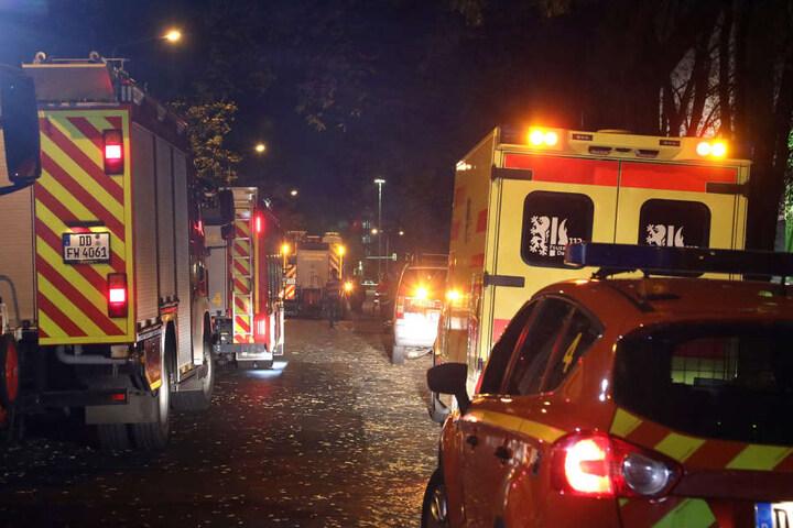 Mehrere Rettungskräfte waren am Morgen im Einsatz.