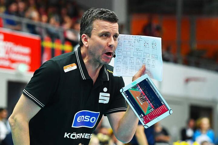 DSC-Chefcoach Alex Waibl verlangt von seiner Mannschaft Vollgas von der ersten Sekunde an.