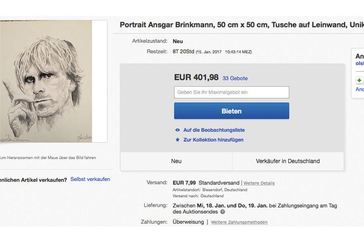 Das ist die Auktion von Ansgar Brinkmann läuft noch bis zum 15. Januar.