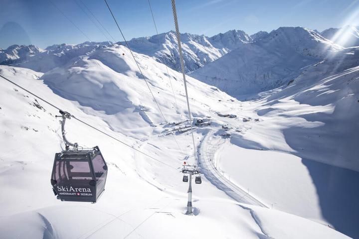 Ein Skigebiet in Andermatt. (Symbolbild)