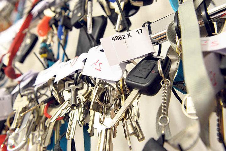 Wer seinen verschusselten Schlüssel abholen möchte, muss einen identischen Zweitschlüssel vorzeigen.