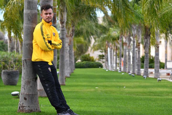 Sascha Horvath will sich nicht zurücklehnen und weiter um seinen Platz bei Dynamo kämpfen. Im Türkei-Camp hat er dazu die Gelegenheit.