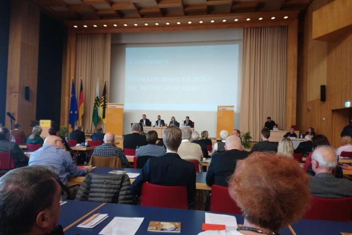 Am Samstag fand ein Kreisparteitag im Rathaus statt.