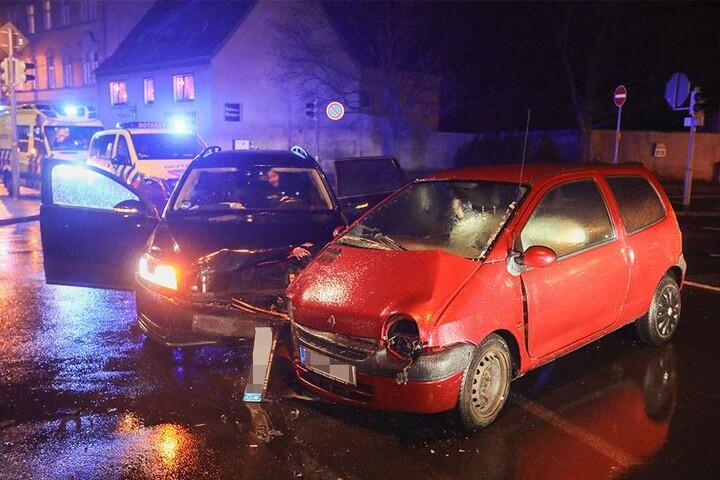 In Radeberg kam es am Abend zu einem Unfall.