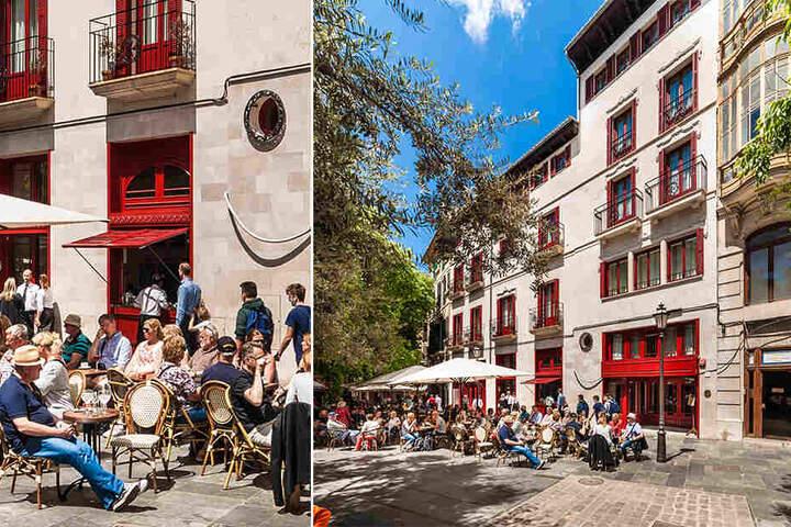 Klein, aber fein: Das Hotel Cort im Herzen von Palma.