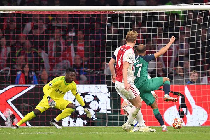 Weltklasse! Lucas Moura erzielte im Spiel gegen Ajax Amsterdam gleich drei Tore.