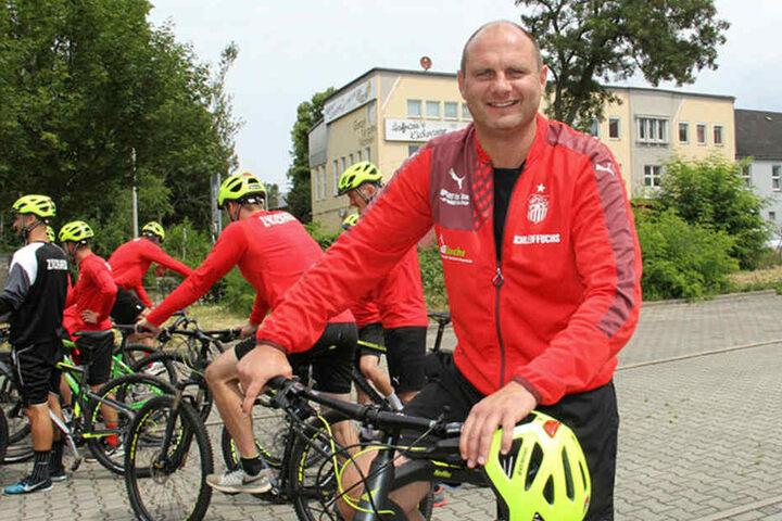 FSV-Sportdirektor David Wagner tritt mächtig in die Pedalen. In dieser Woche auch nochmal was den Kader betrifft.