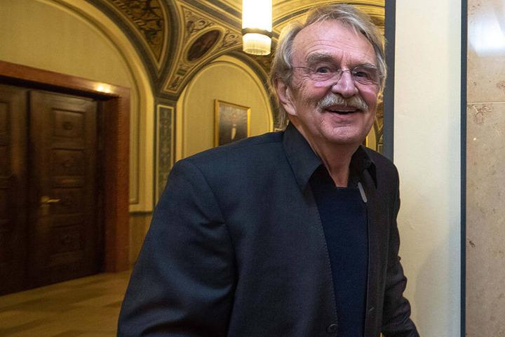 """""""Es geht um Chemnitz"""": Dieter Füßlein (78, FDP)."""