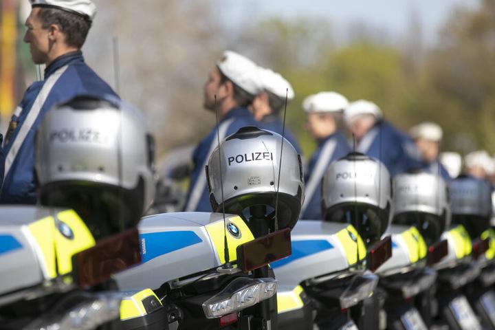 Die Polizei sperrte den Fundort großräumig.