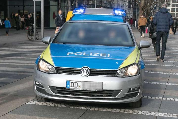 Die Polizei griff vor Ort ein (Symbolbild).