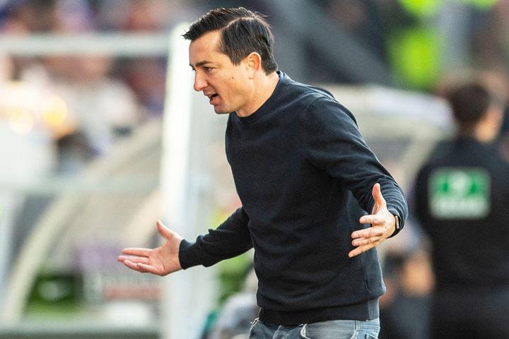 Daniel Meyer ist verwundert über das Gebahren von Hertha BSC.