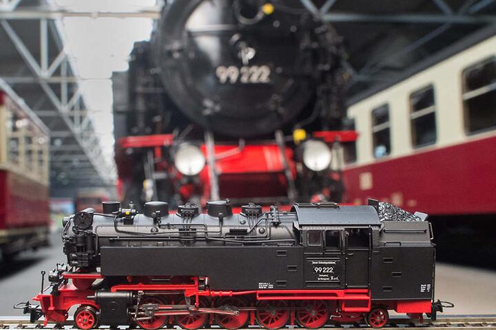 Zugmodelle im Format 1:87 sind in Bollstedt zu bewundern. (Symbolbild)