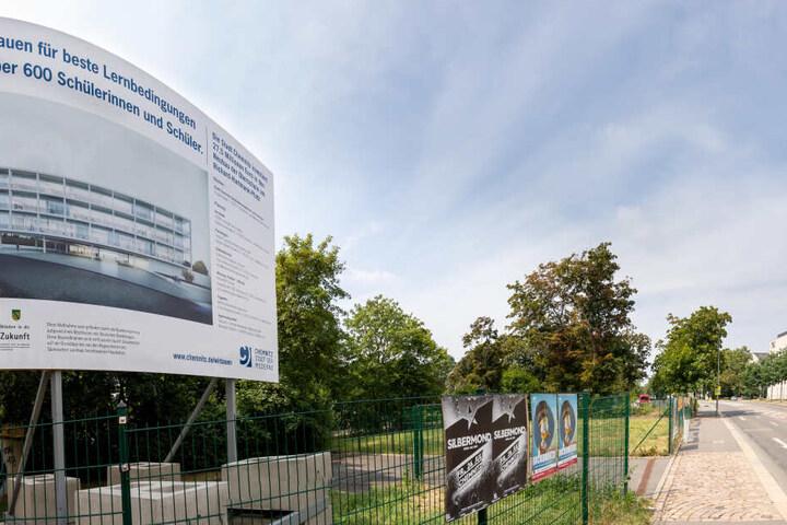 Die neue Oberschule am Hartmannplatz wird über fünf Millionen Euro teurer als geplant.