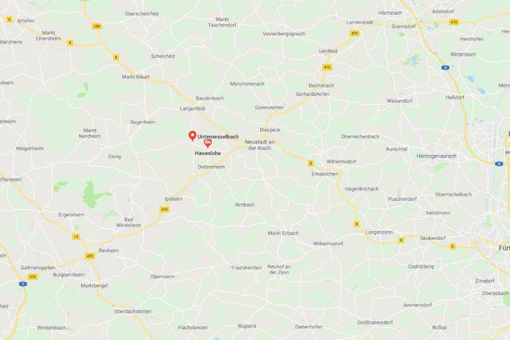 Der Unfall ereignete sich zwischen Unternesselbach und Hasenlohe bei Neustadt an der Aisch.