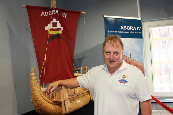 Dominique Görlitz will am Montag zum aktuellen Stand seines neusten Abora-Projektes informieren.