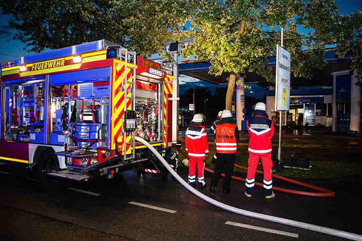 Es wurde niemand bei dem Feuer verletzt