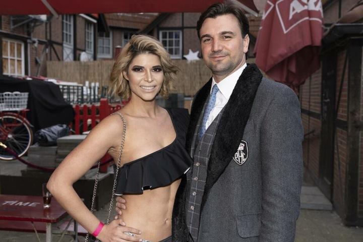 An ihrer Seite: Ihr (Ex-)Freund Felix Steiner (34).