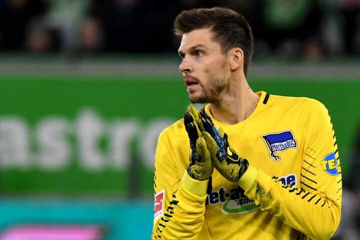 Rune Jarstein will noch länger bei Hertha BSC bleiben.