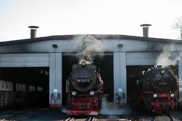 Dampfloks wird man auch in Weimar sehen können.