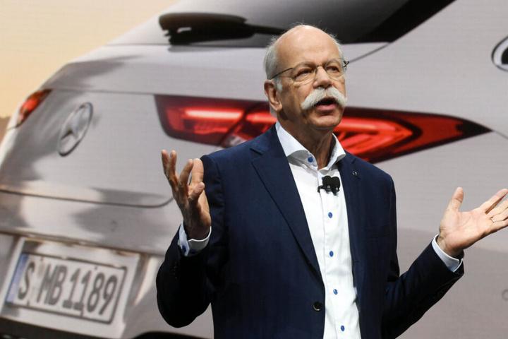 Der scheidende Daimler-Chef Dieter Zetsche beim Genfer Autosalon.