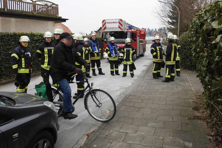 Die Feuerwehr war im Einsatz.