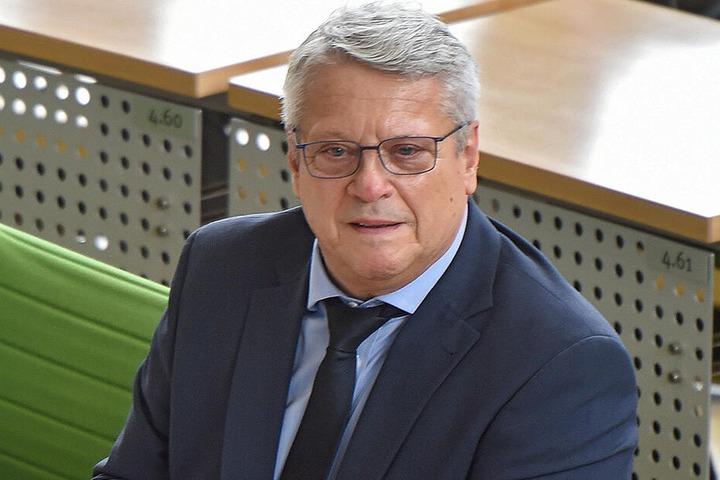 Landtags-Vizepräsident Horst Wehner (67, Linke).