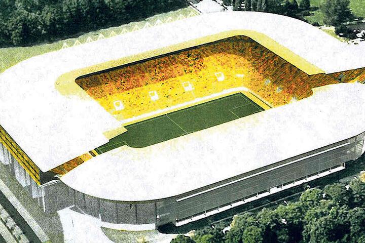 Das DDV-Stadion böte dann mehr als 40.000 Zuschauern Platz.