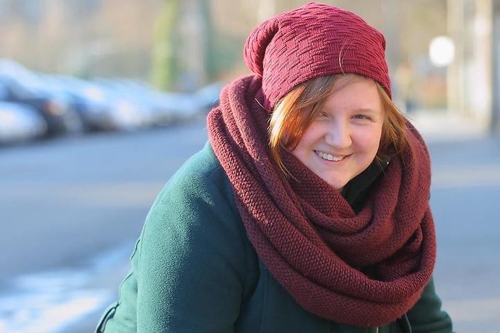 """Anne Göldner (27, Lehramts-Studentin) aus Dresden: """"Ich mache mir zwar Vorsätze. Aber nicht zwingend zum Jahreswechsel, sondern wenn es passt oder sich eine günstige Gelegenheit ergibt. Ich habe etwa angefangen täglich zu kochen und das Essen mit auf Arbe"""