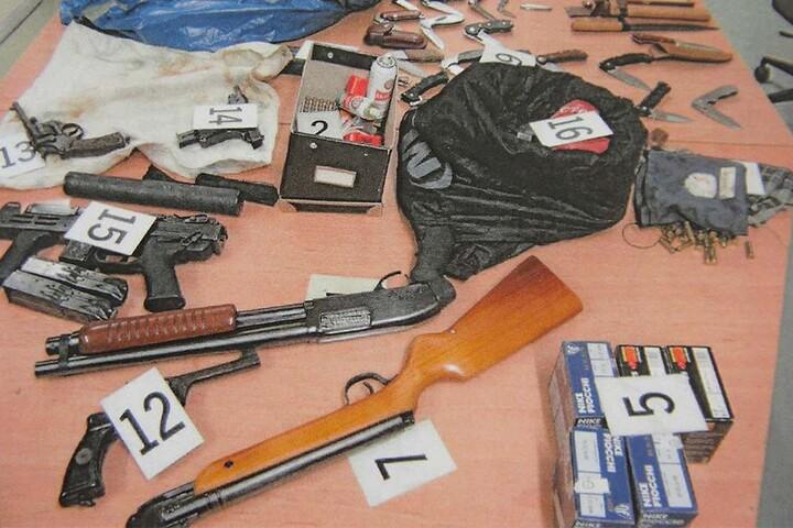 Noch bis Juli können illegale Waffen straffrei abgegeben werden.
