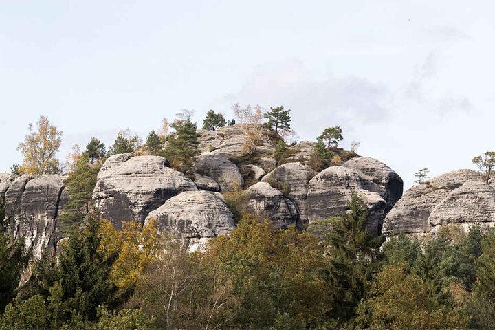 Der Unfall passierte am Fels Gamrig bei Rathen.