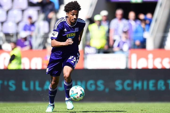 In der Saison 2017/18 spielte Emmanuel Iyoha noch für den VfL Osnabrück in der 3. Liga - auch als Leihspieler.