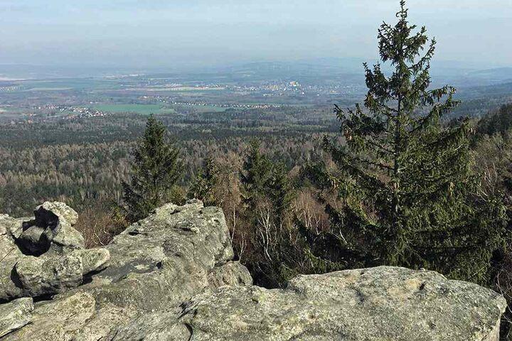 Das Zittauer Gebirge.