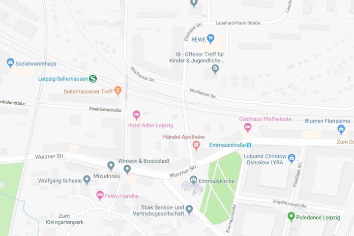 Der Vorfall soll sich in der Püchauer Straße in Sellerhausen-Stünz ereignet haben.