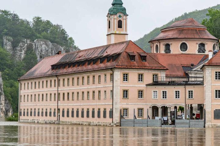 Aufgrund des Dauerregens kam es im Freistaat Bayern vielerorts zu Überschwemmungen.
