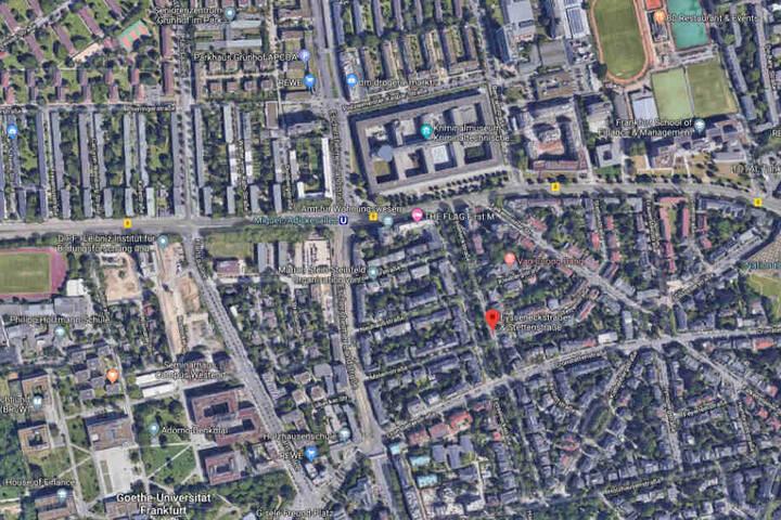 Die Vorfall ereignete sich auf der Stettenstraße in Höhe der Eysseneckstraße.