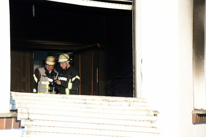 Der Brand konnte von Innen gelöscht werden.