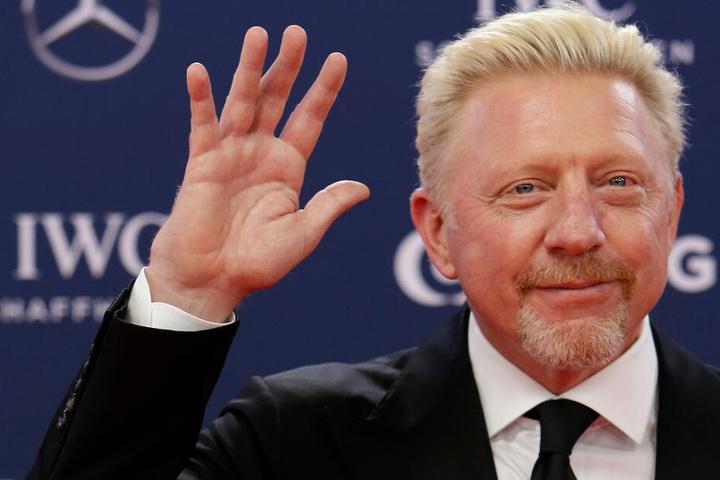 Boris Becker auf dem roten Teppich zur Verleihung der Laureus World Sport Awards 2019.