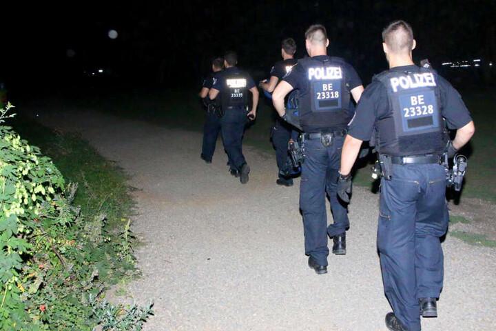 Bis 2.45 Uhr suchten die Beamten nach dem Opfer.