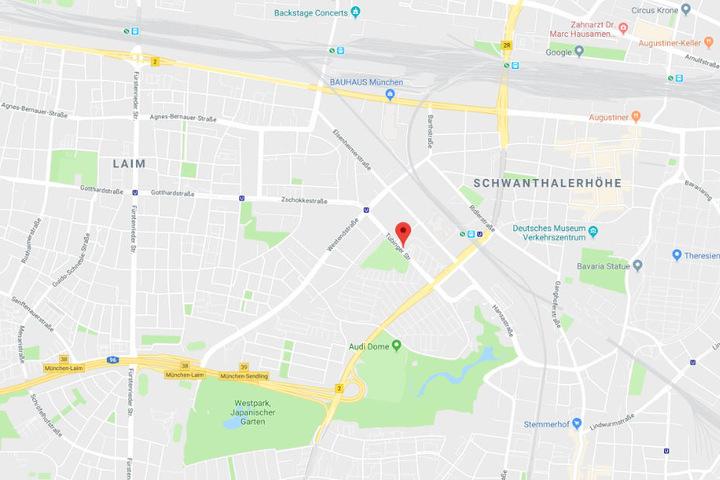 Der Unfall ereignete sich auf einer Baustelle in der Tübinger Straße.