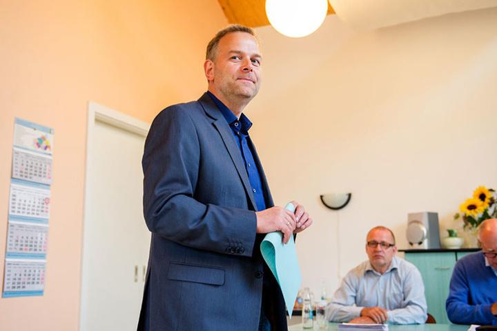 AfD-SpitzenkandidatLeif-Erik Holm.